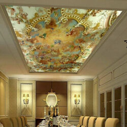 3d Religious Christian Vintage Ceiling Wall Mural Wallpaper Living Room Hallway