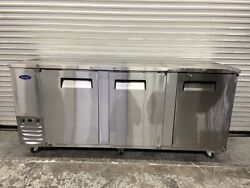Open Box 90 Back Bar Beer Refrigerator Nsf Cooler Stainless Atosa Mbb90 6078