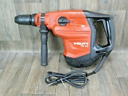 Hilti-te 70 Avr And Side Handle Combi-hammer Drill Sds Max Demo Jack 55 56 Atc Y
