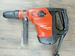 Hilti-te 60 And Side Handle Combi-hammer Drill Sds Max Demo Jack 55 56 Atc Avr Y