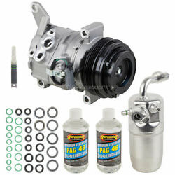 Oem Ac Compressor W/ A/c Repair Kit For Chevy Avalanche 2013 2012 2011