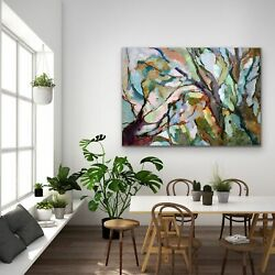 Hand-finished Eucalypt Forest - Original Abstract Australian Bush Nature Painti