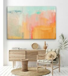 Faded Glory - Edie Fogarty - Original Abstract Painting Stretched Canvas Wall Ar