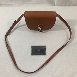Ysl Kaia Small Satchel In Smooth Vintage Leather Crossbody
