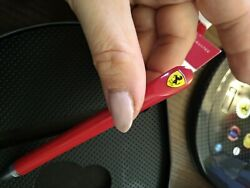 Pen Shaped Like Steering F1 Ferrari Original Official Without Keychain
