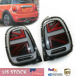1 Pair Tail Light/lamp Led 2014-2018 For Mini Cooper F55 F56 F57 Clear Housing