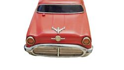Vintage Rare Old Collectible Antique Red Sedan Toy Car