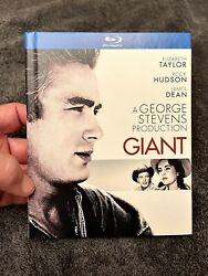 Giant Blu-ray/dvd 3-disc Digibook W/ Backpaper, 2013 James Dean Free Ship Oop
