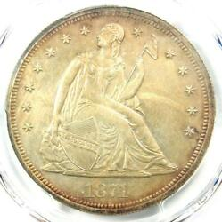 1871 Proof Seated Liberty Silver Dollar 1 Coin - Pcgs Proof Details Pr/pf