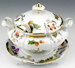 I Godinger And Co Yorkshire Gravy Sauce Boat Tureen Bowl With Lid And Ladle