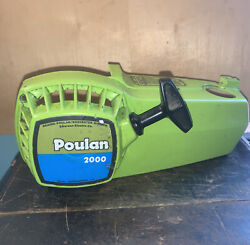 Poulan 2000 Chainsaw -recoil Pull Start- Good Used Condition.