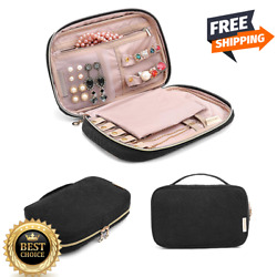Jewelry Organizer Bag Travel Jewelry Storage Cases For Necklace Earrings Rings