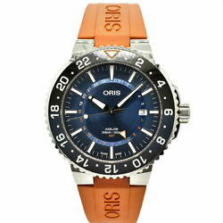 Free Shipping Pre-owned Oris Carysfort Reef Limited Edition 798 7754 4185-set Rs