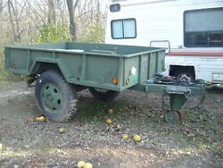 Military Trailer 105a2 Unused Since Complete Government Reconditioning