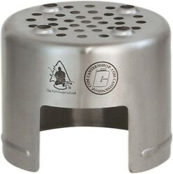 Pathfinder Bottle Backpacking Stove Food Grade 304 Stainless Steel Construction