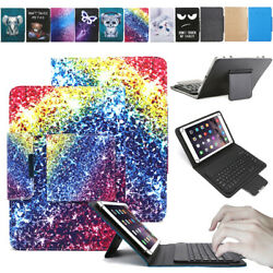 For Lenovo Tab 10 10.1 10.3tablet Leather Case Bluetooth Keyboard Print Cover