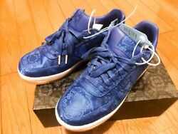 Nike Air Force 1 Low X Clot Blue Silk Used Fake Busters Good Condition Us8