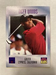 Tiger Woods Rookie Card 536 1996 Sports Illustrated Si For Kids Rc. Not Graded