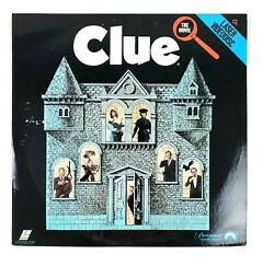 Clue Extended Play Laserdisc Ld Mystery Movie Tim Curry 1986