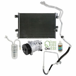For Chrysler Sebring Oem Ac Compressor W/ A/c Condenser And Repair Kit Csw