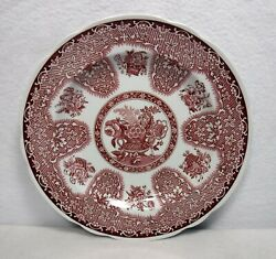 Spode China Buttercup Original Brown Backstamp Square Luncheon Plate - 8-3/4