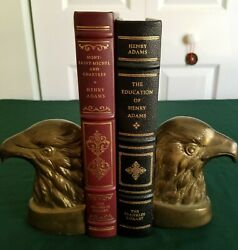 Lot Franklin Library 2 By Henry Adams The Education Of And Mont-saint Michelle