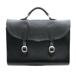 Chrome Hearts Chromehearts Briefcase Business Bags Heavy Leather Secondha _77029
