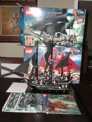 Lego Pirates Of The Caribbean 4195 Queen Anneand039s Revenge 4184 Black Pearl Used