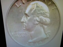 1962-d Washington Silver 25 Cents Icg Ms 67 Lists For 3150 Scarce This Nice