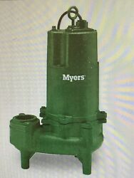 Myers Whr7-43, Whr Series, Sewage Pump, 3/4 Hp Part 21646d002