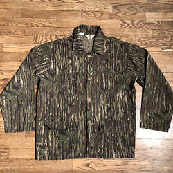 Bob Allen Realtree Camoflauge Button Down Hunting Shirt Menand039s L Free Shipping