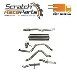 Corsa Cat-back Exhaust System With Split Rear Exit For Chevy/gmc 304 Ss 21034