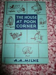 The House At Pooh Corner A. A. Milne 1950 Hardcover Winnie The Pooh Illustrated