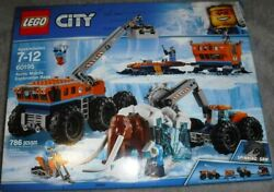 Lego City Artic Mobil Base 60195 W/6 Minifigures A Wooly Mammoth Sealed Set