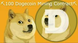 100 Doge Coin Mining Contract