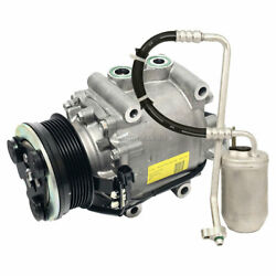 Oem Ac Compressor W/ A/c Drier For Ford Five Hundred Freestyle Mercury