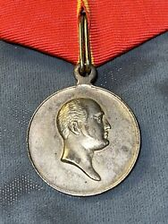"""Imperial Russia Medal """"in Memory Of The Century Of The Patriotic War Of 1812"""""""