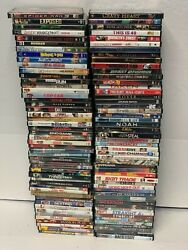 Lots Of 100 Used Assorted Dvd Movies 100 Bulk Dvds Used Dvds Lot P