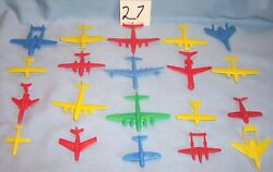 Lido Marx Renwal Cracker Jack Multiple Products Toymakers Mpc Planes Playset 27