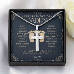 Daddy First Fathers Day Gift From Mommys Tummy Dad To Be Gifts Wife To Husband