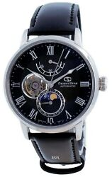 Orient Star Moon Phase Open Heart Automatic Re-ay0107n00b Menand039s Watch