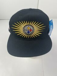 Nwt Vintage Pittsburgh Steelers Super Bowl Ix Xiv Xii X Four Time Champions Hat