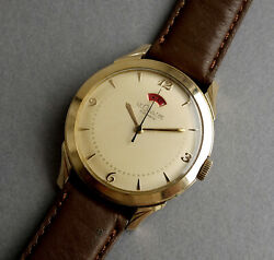 Jaeger Lecoultre Powermatic 10k Gold Filled Vintage Automatic Watch 1954