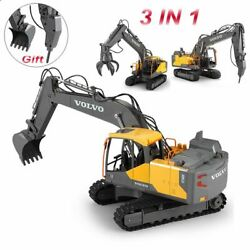 Large Remote Control Excavator 3-in-1 Truck Construction Vehicle 24 Inch Toy