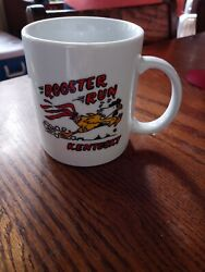 Rooster Run General Store Vintage Coffee Cup Kentucky Nelson County. Joe Evans
