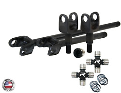 Revolution Axle 4340 Us Made Front Axle Kit W/hd U/joints To Fit 97-06 Tj 30spl
