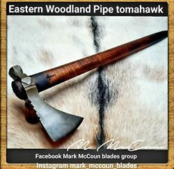 Hand Forged Eastern Woodland Pipe Tomahawk By Mark Mccoun 2 Trekking Usa