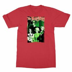 The Munsters Frankenstein 1964s Vintage Comedy Tv Menand039s T-shirt
