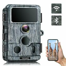 Toguard 4k Native Wifi Trail 30mp Game Cam With 940nm No-glow Ir Led Nightvision