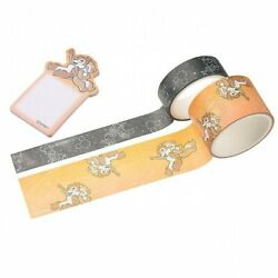 New Disney Store Japan Chip And Dale Decoration Tape / Sticky Notes Starry Sky